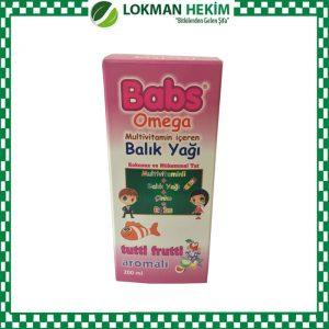 Babs Omega Multivitamine Fish Oil Tutti Frutti Aromalı 200 ML