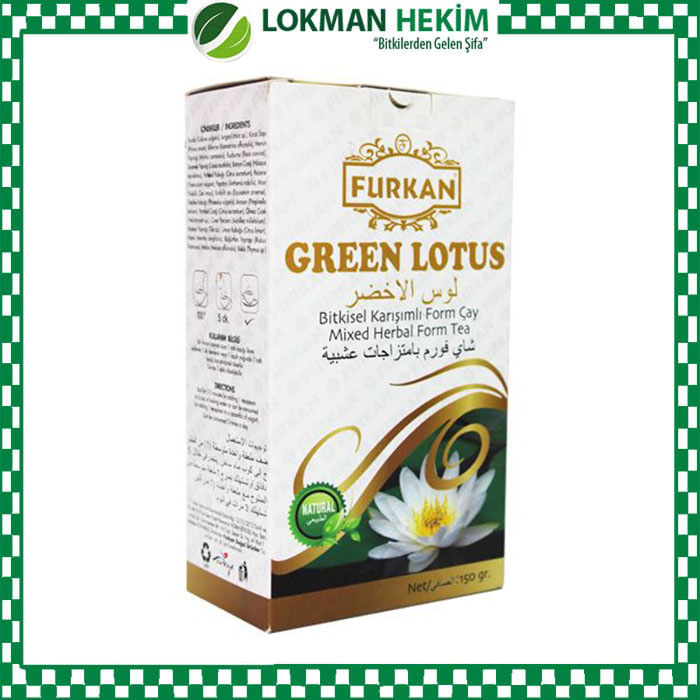 Furkan Green Lotus Form Çayı 150 GR