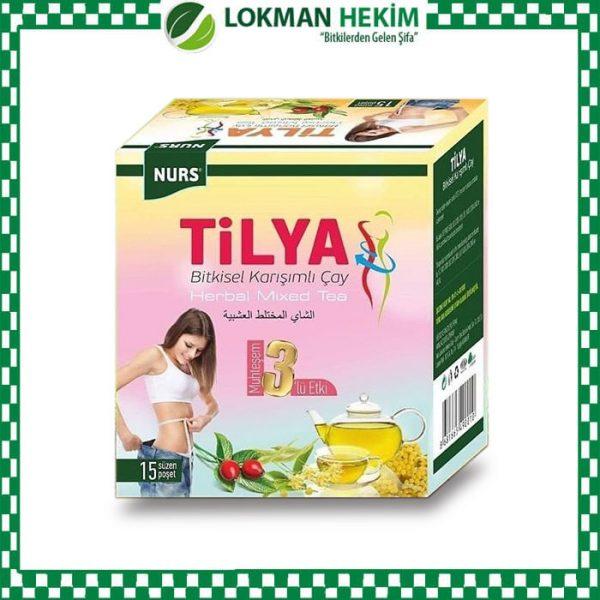 Tilya kürü bitkisel karışımlı çay