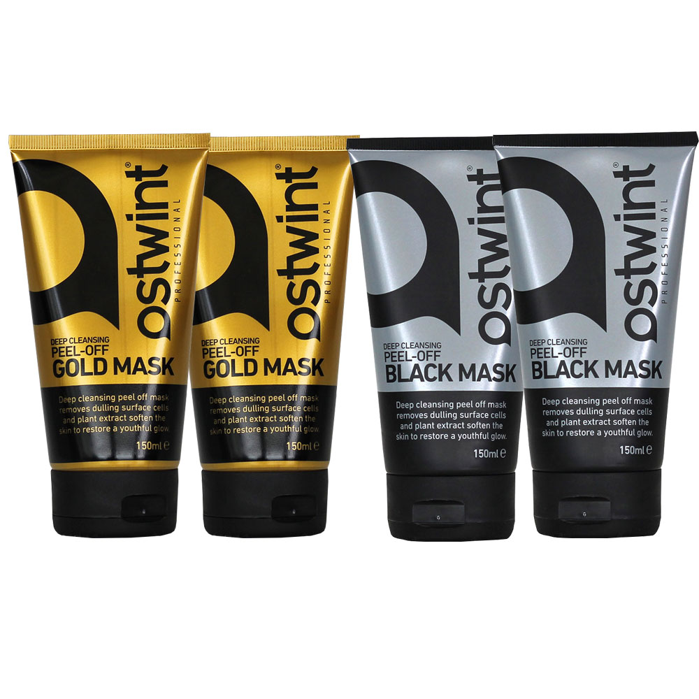 Ostwint Gold Mask ve Ostwint Black Mask 4 Adet