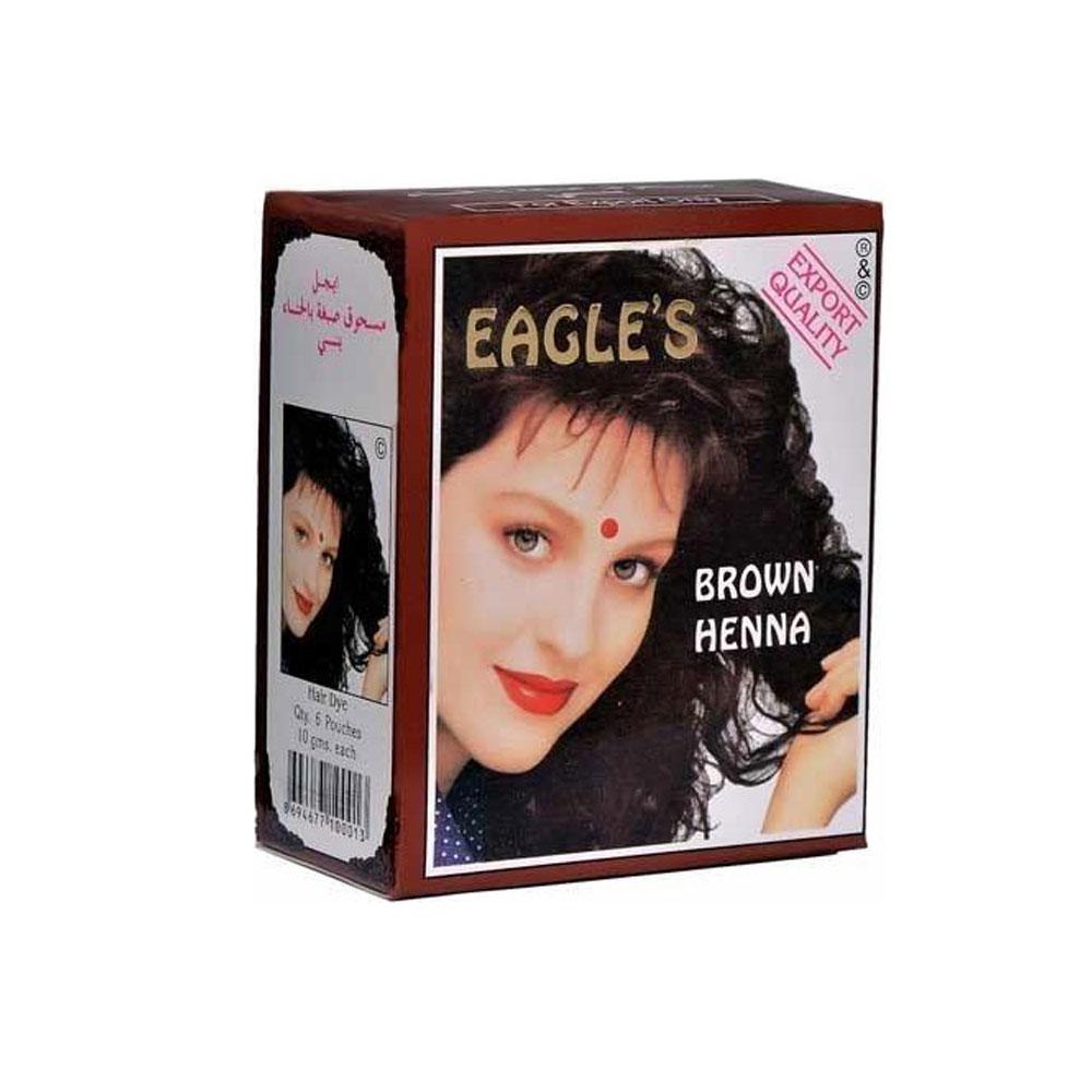 Eagles Henna Brown Hint Kınası Kahve 6'lı