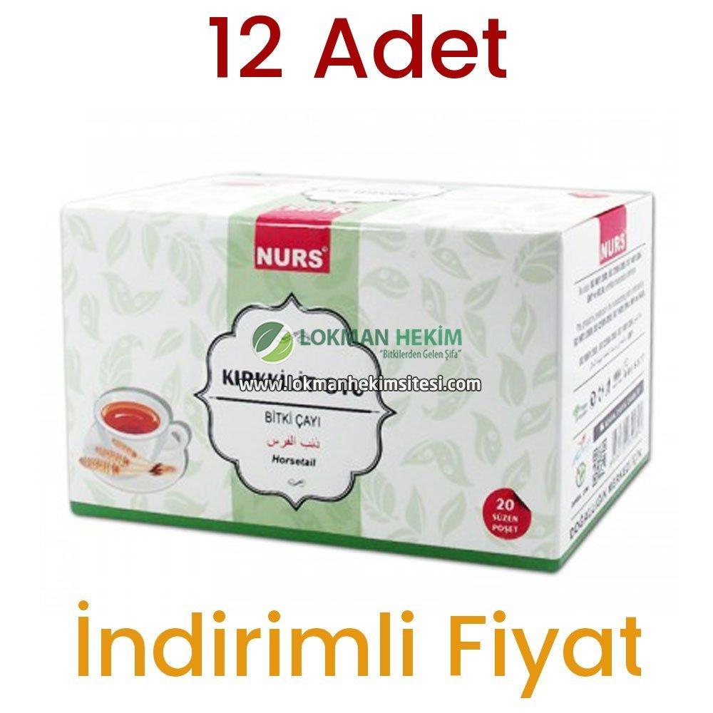Nurs Lokman Hekim Kırkkilit Otu Bitki Çayı 20 Süzen Poşet 12 Adet