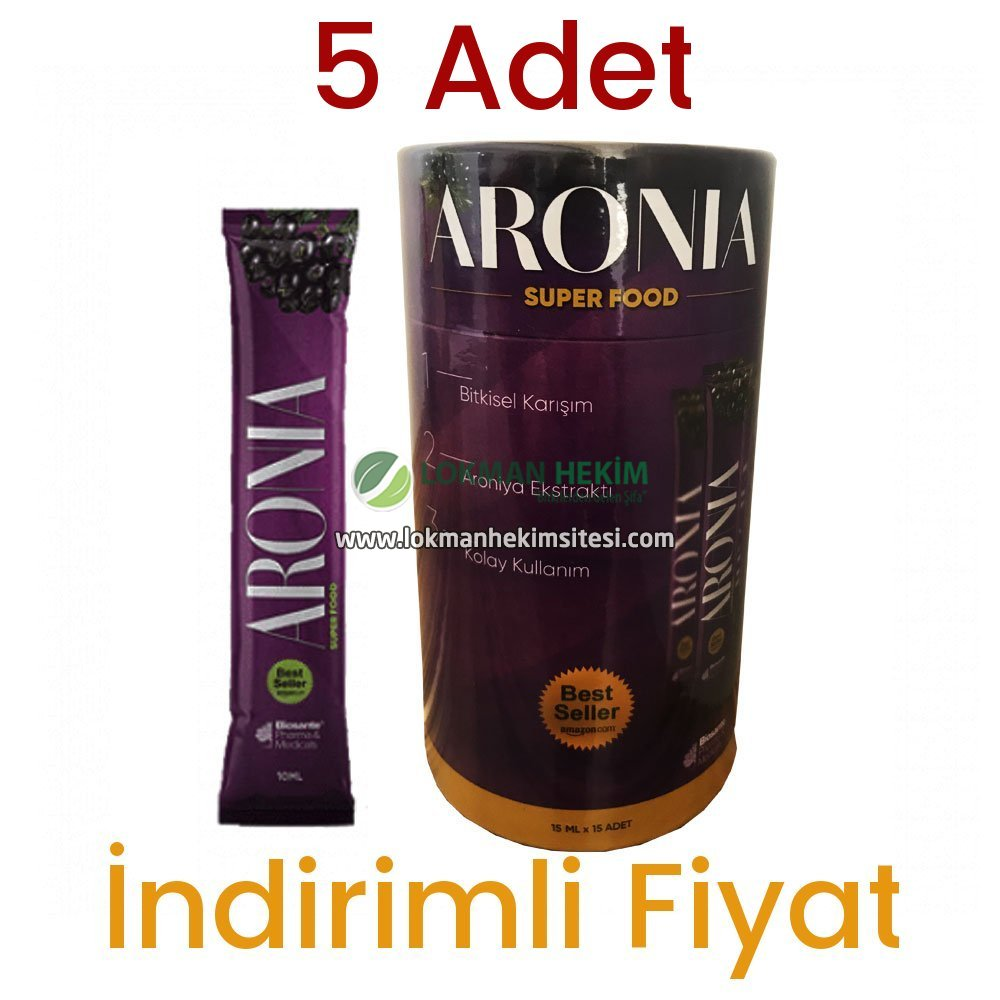 Aronia Super Food 5 Kutu 75 Şase