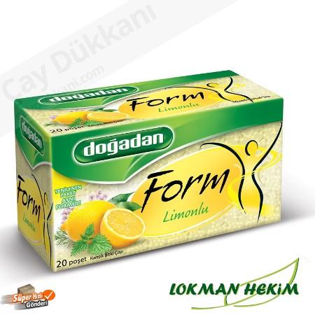 Doğadan Form Limonlu Çay 20 Süzen Poşet