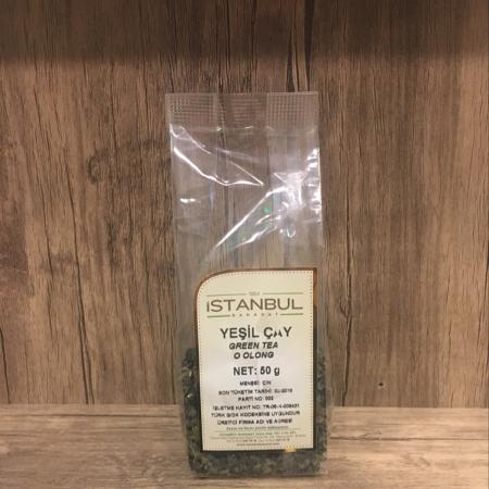 İstanbul Baharat Oolong Çayı 50 Gram Yeşil Çay