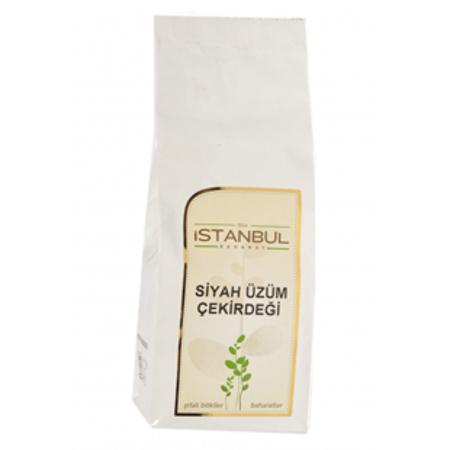 İstanbul Baharat Siyah Üzüm Çekirdeği 250 Gram Toz
