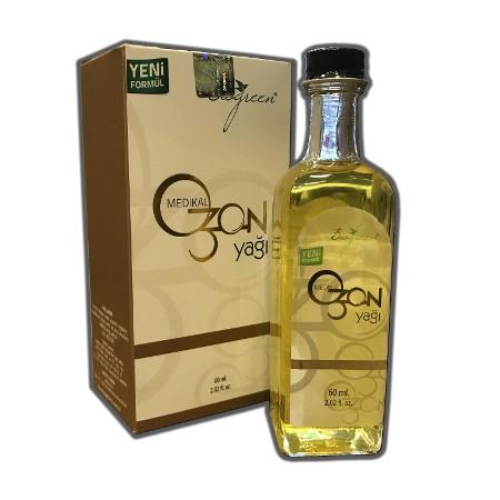 Medical Organik Ozon Yağı 60ml İngiliz karbonatı hediye Biogreen
