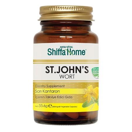 Shiffa Home St. John Fort Sarı Kantaron Kapsül