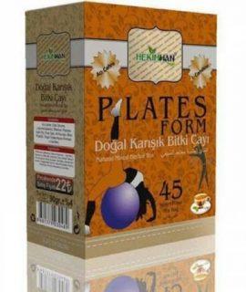 Hekimhan Bitkisel Plates Form Doğal Karışık Bitki Poşet Çay 45x2G