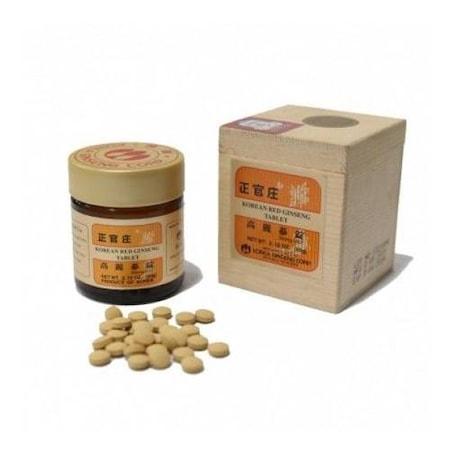 Korean Red Ginseng Tablet 300 mg 200 Adet ORJİNAL