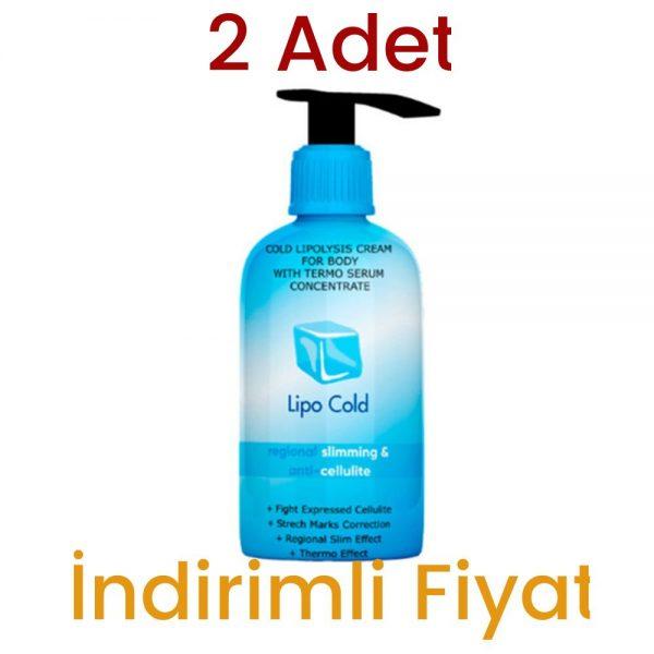 Lipo Cold Jel Krem 250 ML 2 Adet