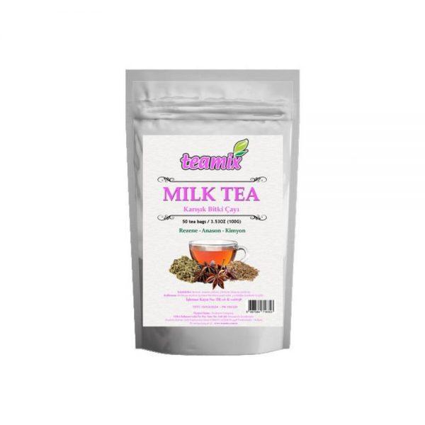 Teamix MILK TEA 1 adet 50 süzen poşet
