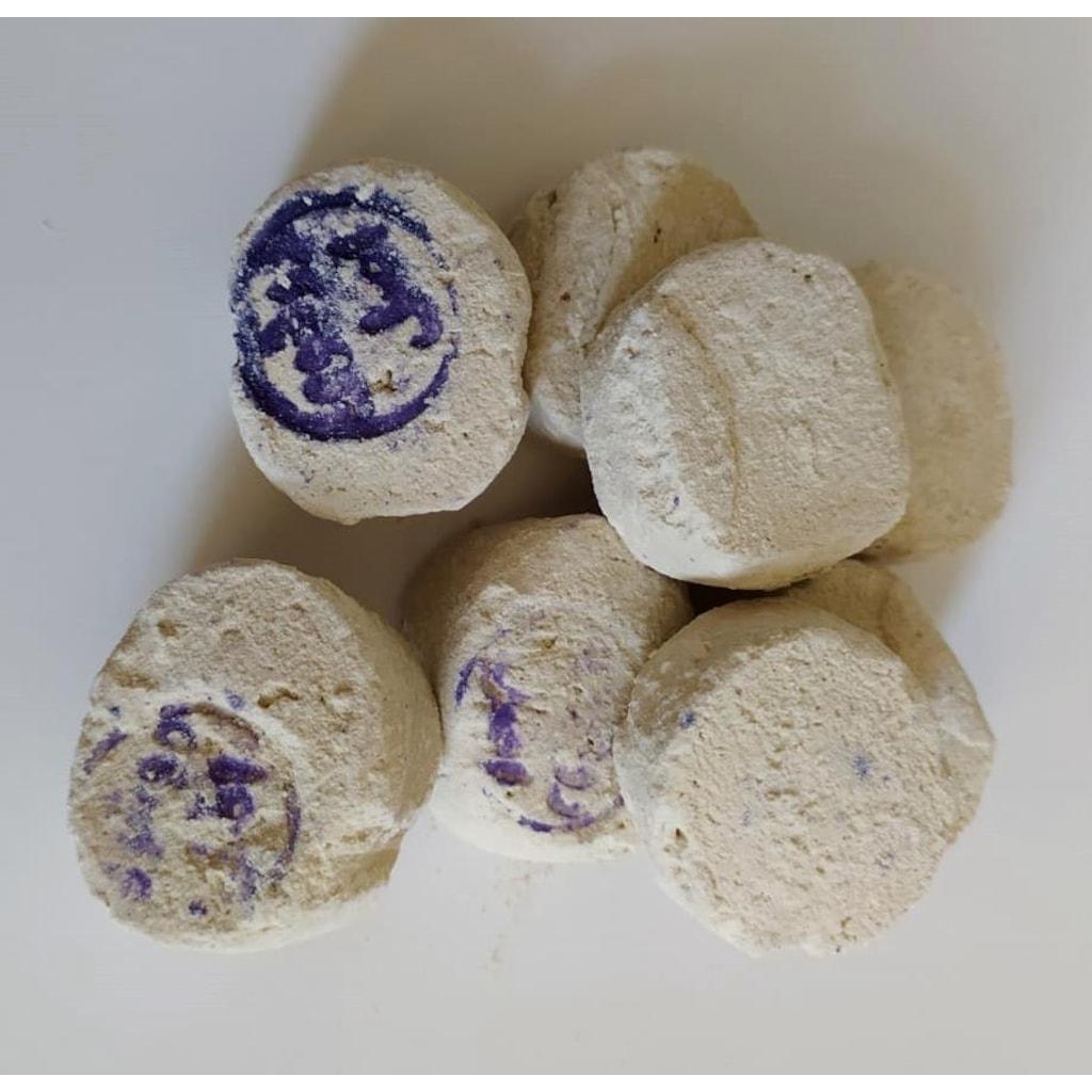3 Adet Ruşur Taşı (Sefidab) Mühürlü Doğal Peeling (İran)