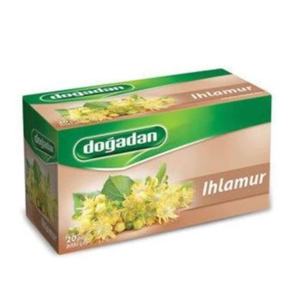 Doğadan Ihlamur Karışık Bitki Poşet Çay 2'li 20 x 1.6 G