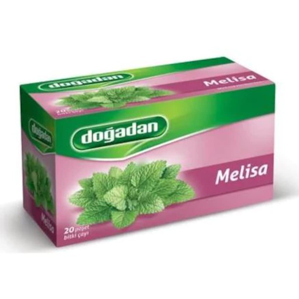 Doğadan Melisa Bitki Çayı Süzen Poşet 2'li 20 x 2.5 G