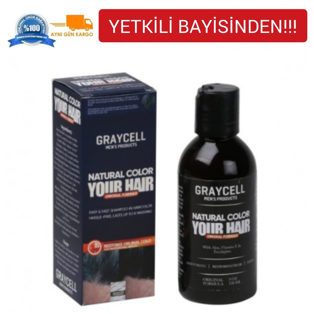 Graycell Natural Color Your Haır 150 ml