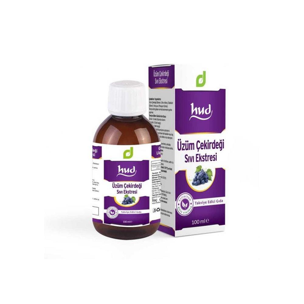 Hud Üzüm Çekirdeği Sıvı Ekstresi 100 ml