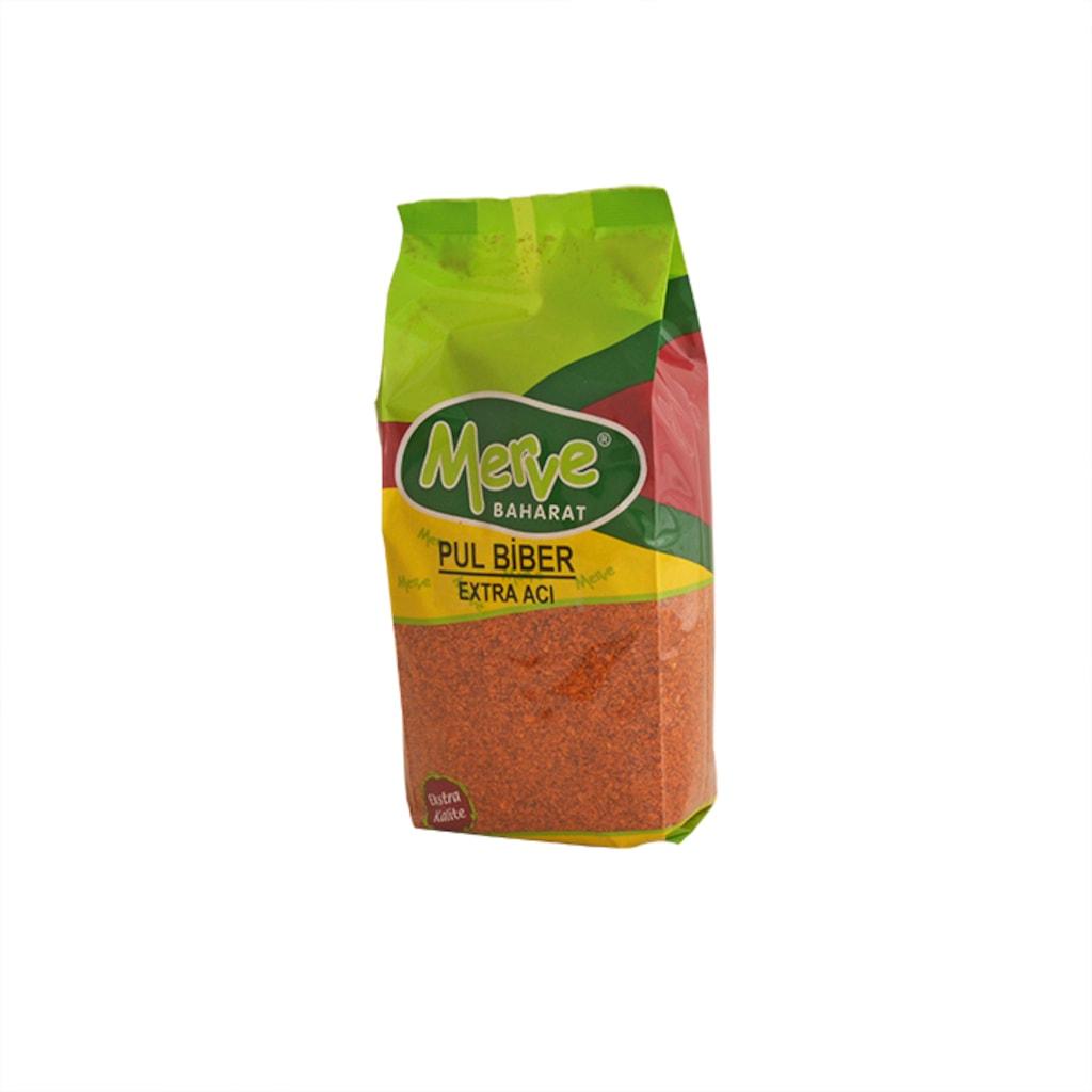 Merve Baharat Extra Acı Pul Biber 1 KG