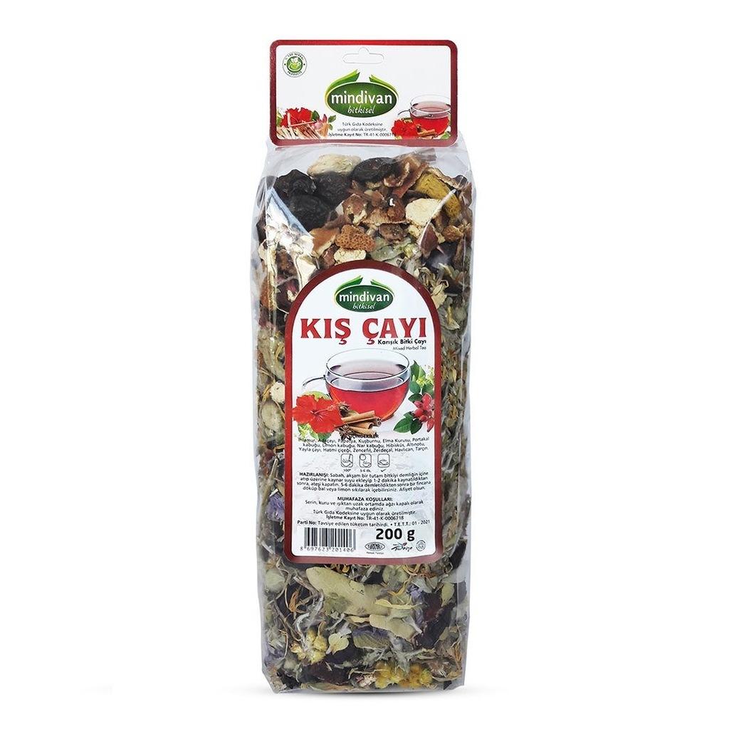 Mindivan Kış Karışık Bitki Çayı 200 G