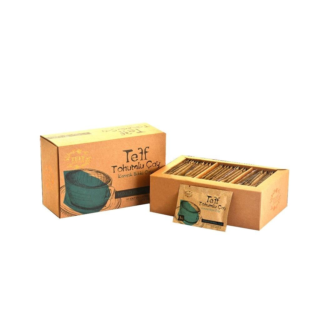 TEFF LİFE SLİM Teff Tohumlu Çay - Bandrollü ORİJİNAL Ürün