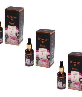 3 ADET Rosense Gül Yağı (Cilt Yağı) 30ml