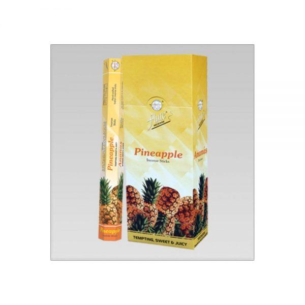 Flute Ananas Pineapple oda kokusu çubuk 6x20 Adet