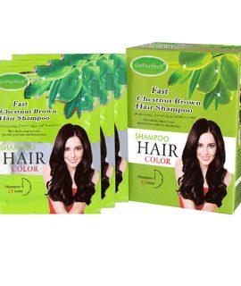 Go Perfect Saç Renklendirici Şampuan Kestane 10 x30 ML (5.40) 1 KUTU