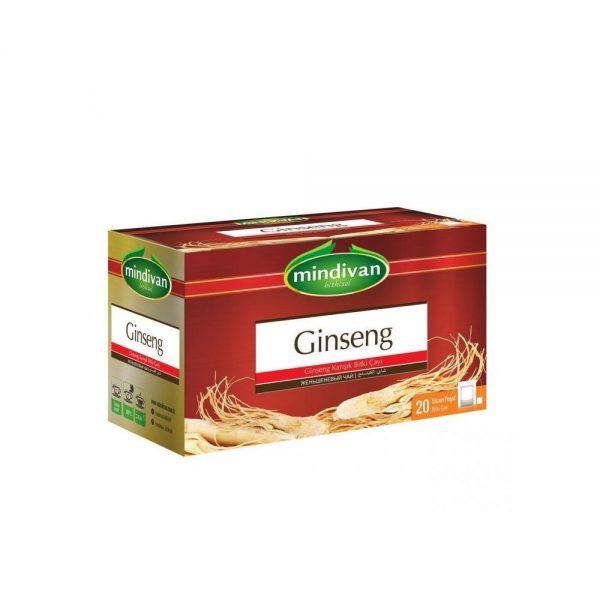Mindivan Ginseng Çayı 20 li Poşet Çay