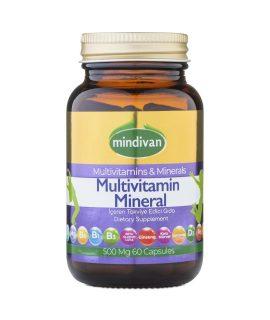 Mindivan Multivitamin 60 Kapsül x 500 mg