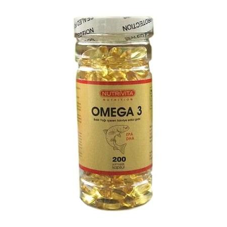 Nutrivita Omega 3 2000 Mg 200 Kapsül