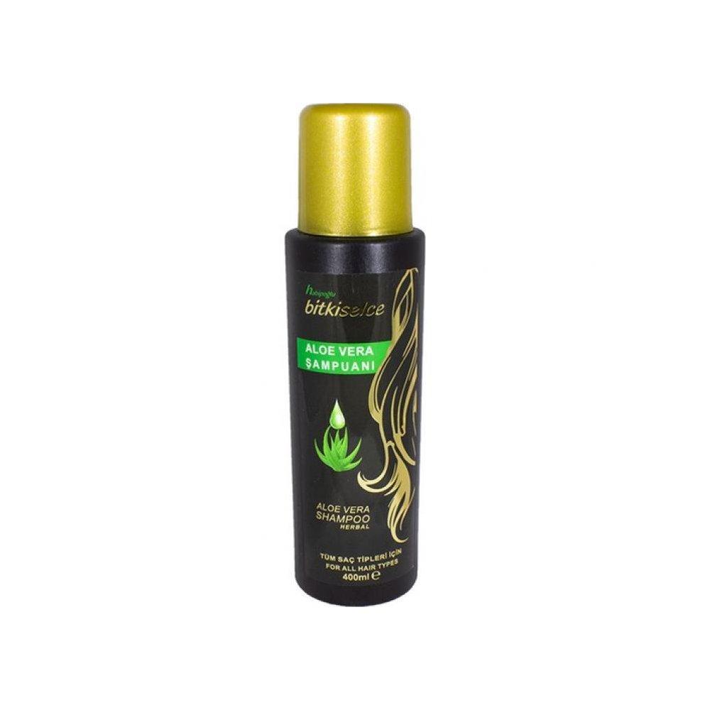 Habipoğlu Bitkiselce Aloe Vera Şampuanı 400 ml
