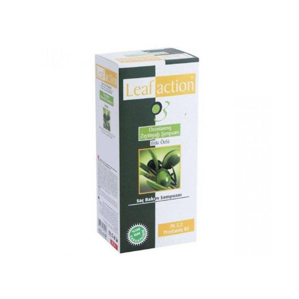 leafaction Ozonlanmış Zeytinyağı Şampuanı 400 ml