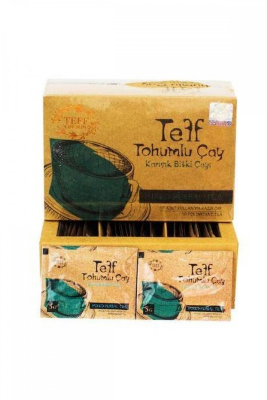 Teff Life Slim Teff Tohumlu Çay 30 Günlük diyet çayı 30 Adet süzen poşet