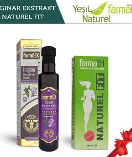 My FarmaEx Naturel Fit Ekstrakt 150 CC Enginar Ekstraktı 250 ml set