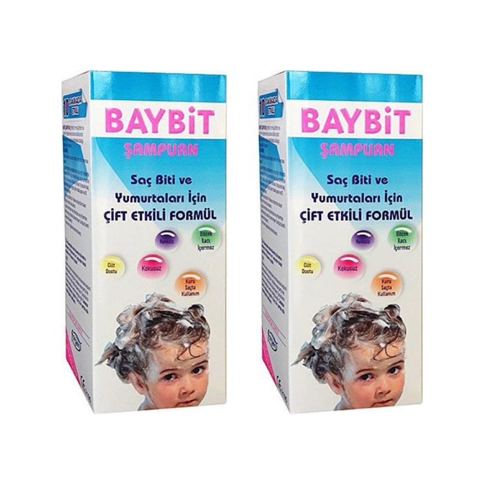 2 ADET Baybit Bit Şampuanı 200 ml